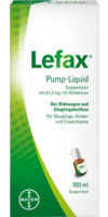 LEFAX Pump Liquid