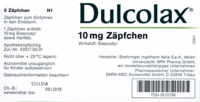 DULCOLAX-Suppositorien