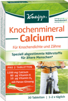 KNEIPP Knochenmineral Calcium Tabletten